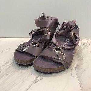 Papillio Emmy Ribbon Lace Purple Sandals